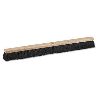 36 in. Polypropylene Bristles Push Floor Brush Head