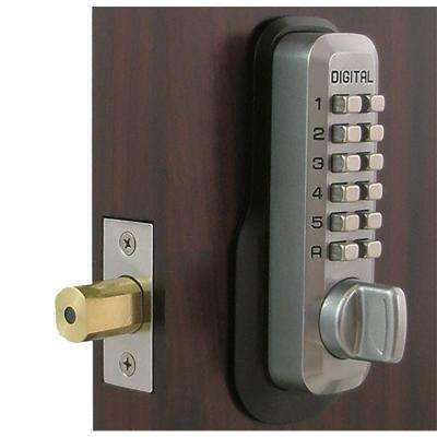 Marine Grade Single Cylinder Digital Keypad Deadbolt