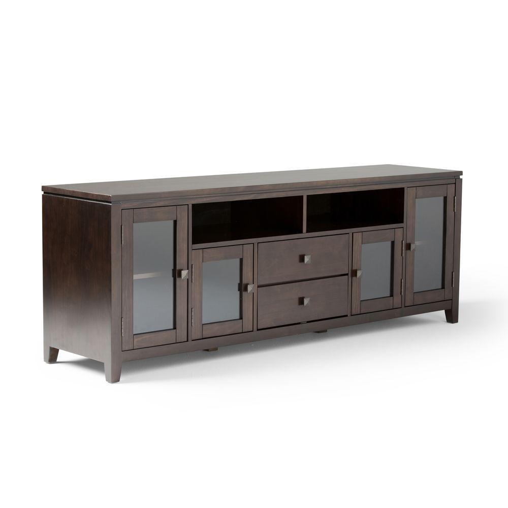Modern Solid Wood 17 5 In Tv Stands Living Room Furniture