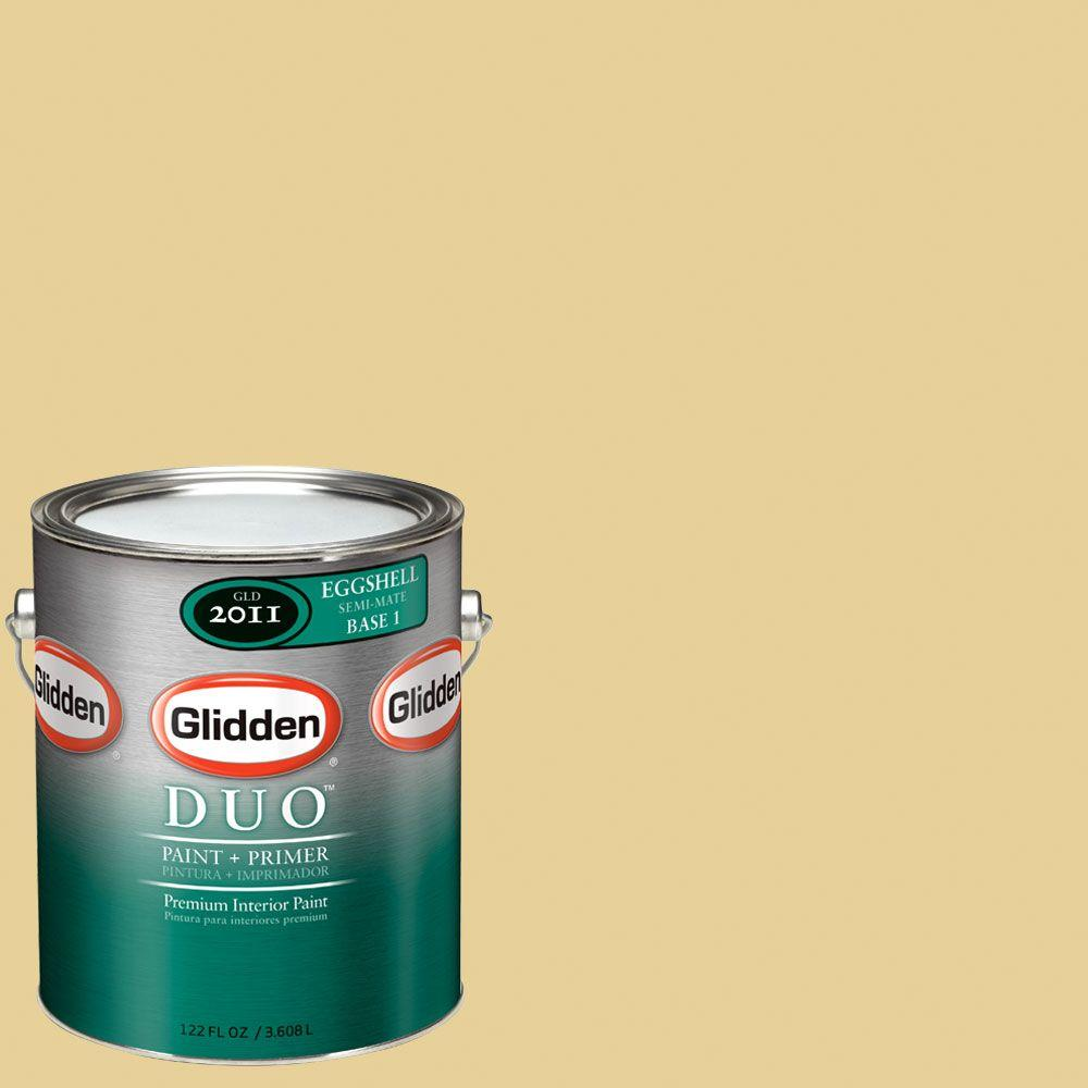 Glidden DUO Martha Stewart Living 1-gal. #MSL066-01E Rattan Eggshell Interior Paint with Primer-DISCONTINUED