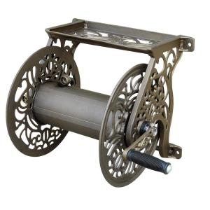 Click here to buy Hampton Bay Wall-Mounted Hose Reel by Hampton Bay.