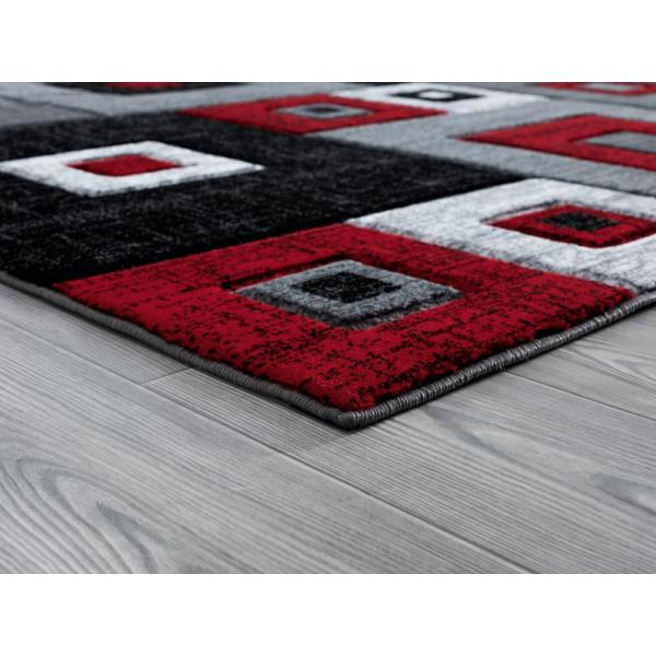 United Weavers Bristol Cicero Red 7 Ft 10 In X 7 Ft 10 In Round Rug 2050 10230 88r The Home Depot