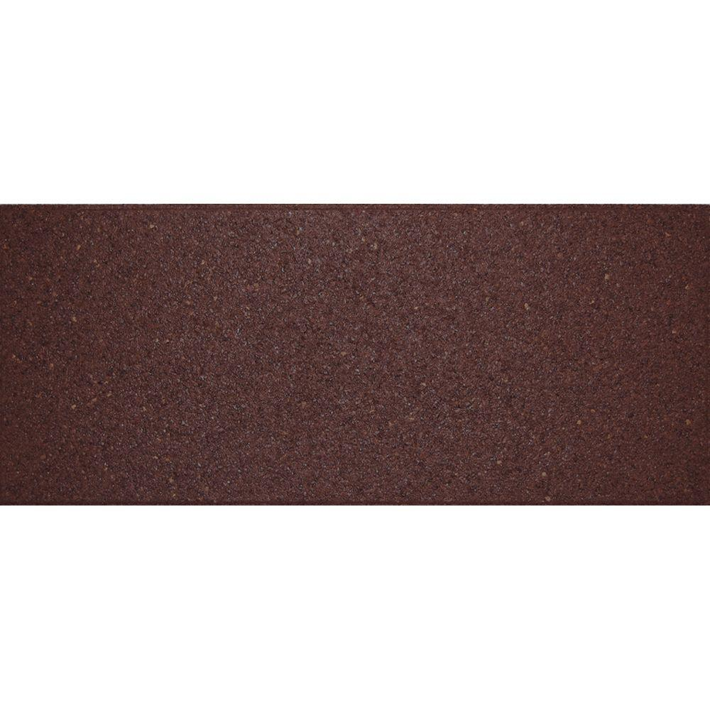 Envirotile 10 in. x 24 in. Flat Profile Terra Cotta Stair Tread (2-Pack)