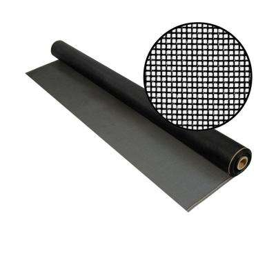 36 in. x 100 ft. Charcoal Fiberglass Screen 20 x 20 Mesh