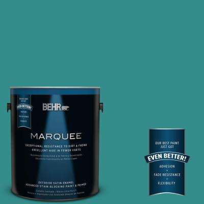 Home Decorators Collection #HDC-FL13-12 Taos Turquoise Exterior Paint