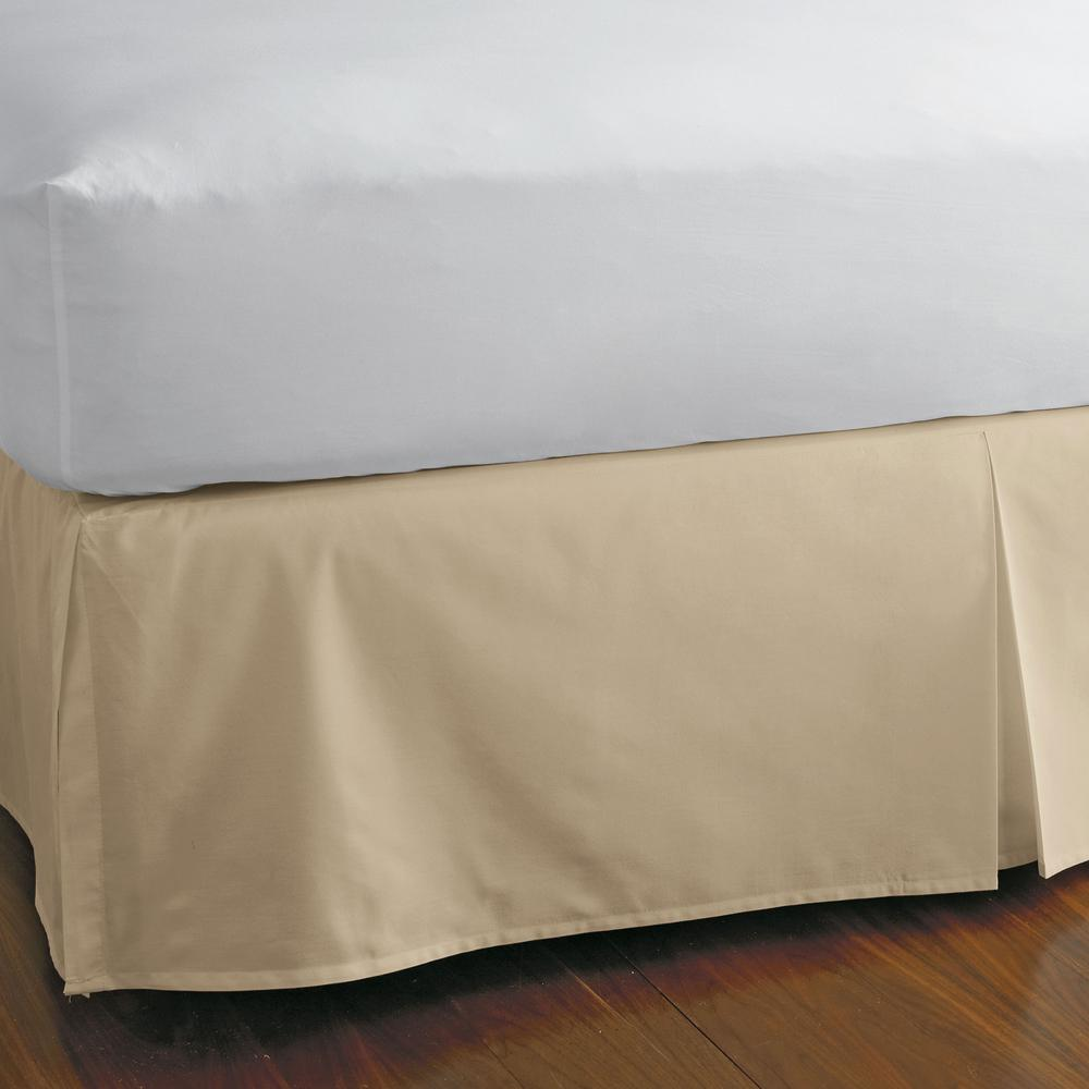 """/""""Bed Skirt/"""" Select Drop Length All US Size Aqua Solid 1000 TC Egyptian Cotton"""