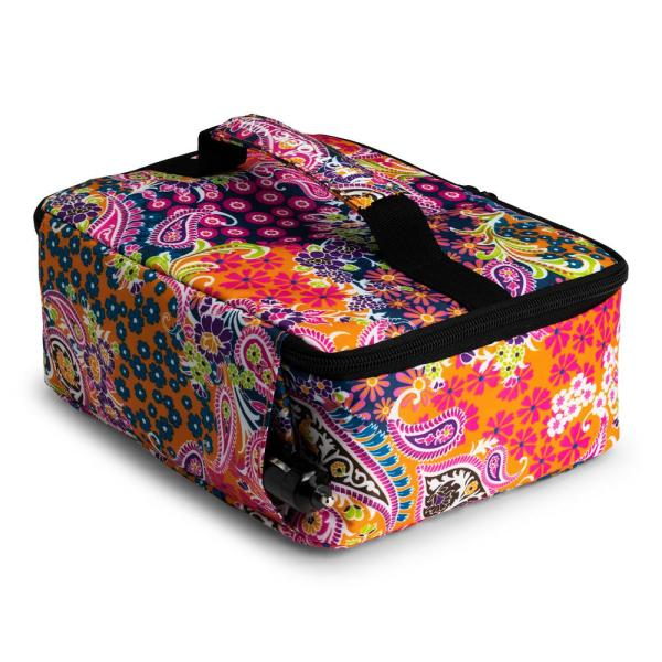 Hotlogic Paisley Food Warming Lunch Bag 12v With Glass Dish 16801189 Psl The Home Depot