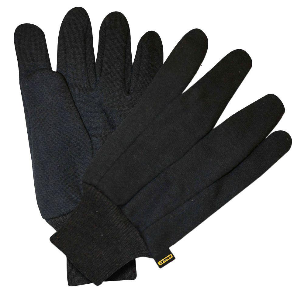 Stanley Premium 700 gm Heavyweight Brown Jersey Glove (6-Pair)