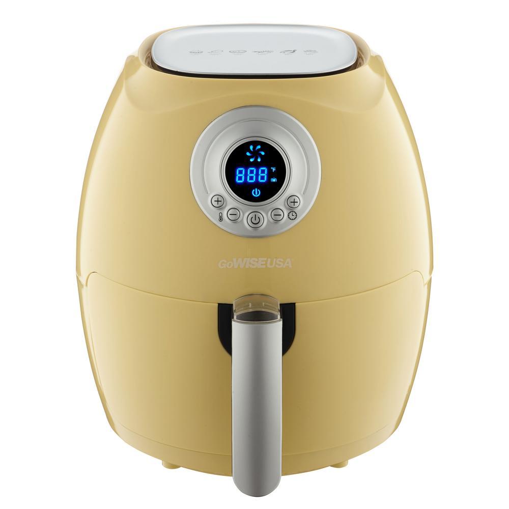 2.75 Qt. Majestic Yellow Electric Air Fryer