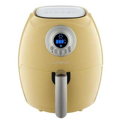 2.75 Qt. Majestic Yellow Electric Air Fryer