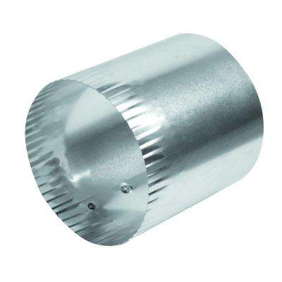 4 in. x 6 in. Solid Aluminum Duct Connector
