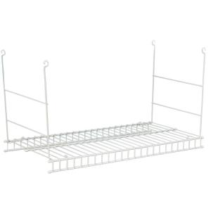 hanging wire shelf closetmaid