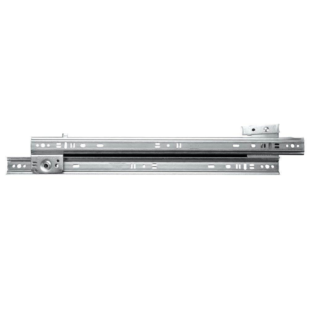 Knape & Vogt 1300 Series 22 in. Zinc Drawer Slide