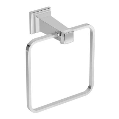 Oxford Towel Ring in Chrome