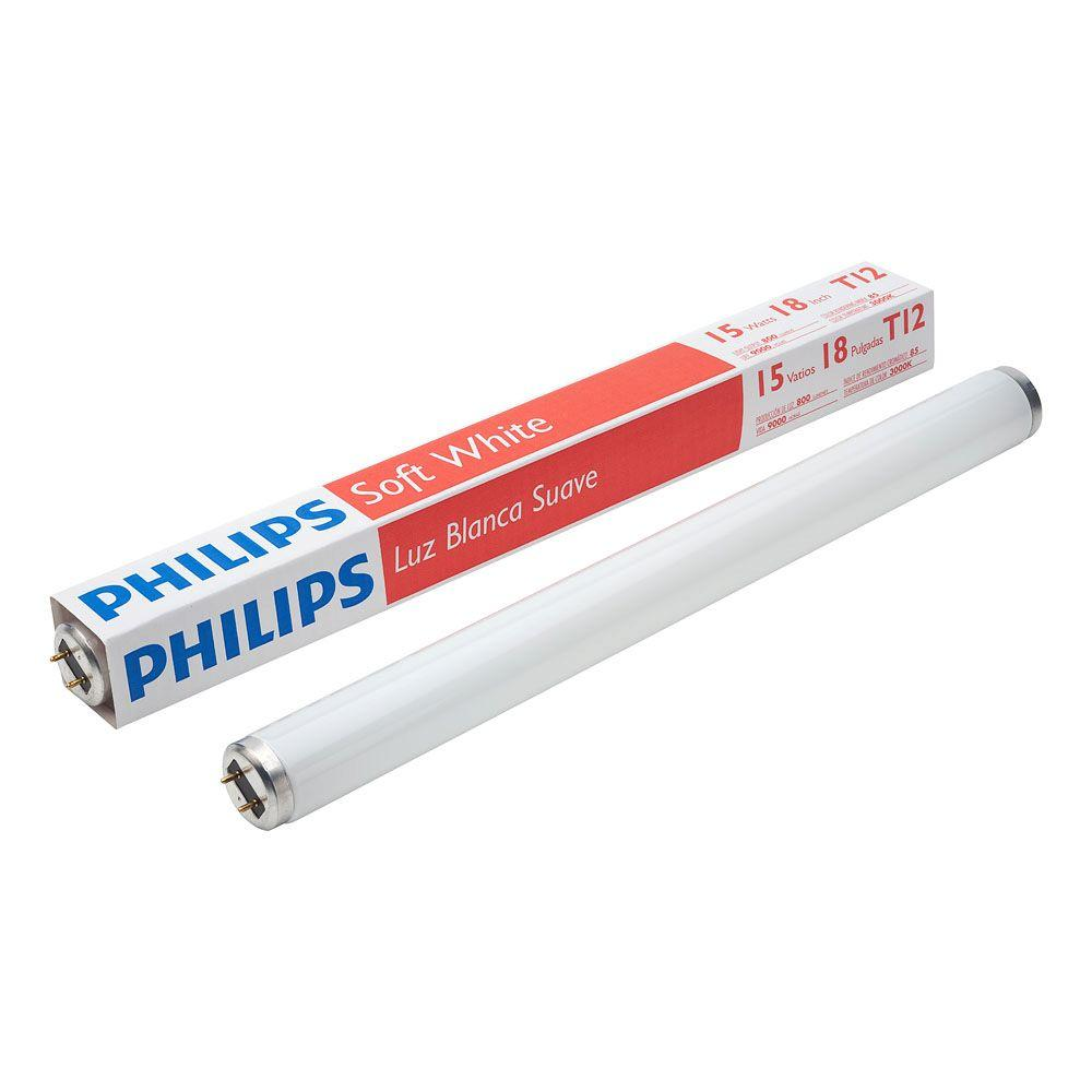 Philips 18 In. 15-Watt T12 Soft White Linear Fluorescent