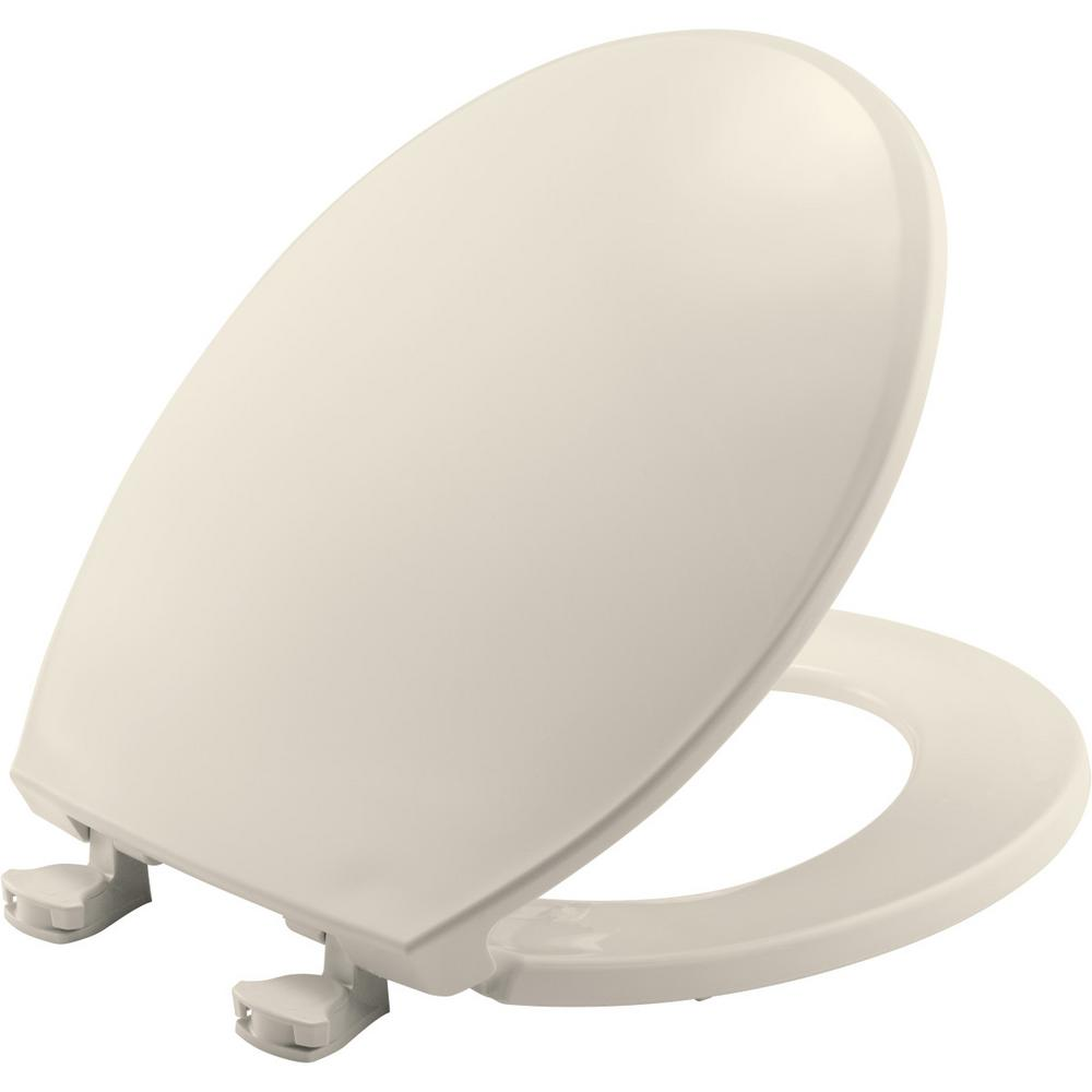 Church Round Closed Front Toilet Seat In Biscuit 3ec 346
