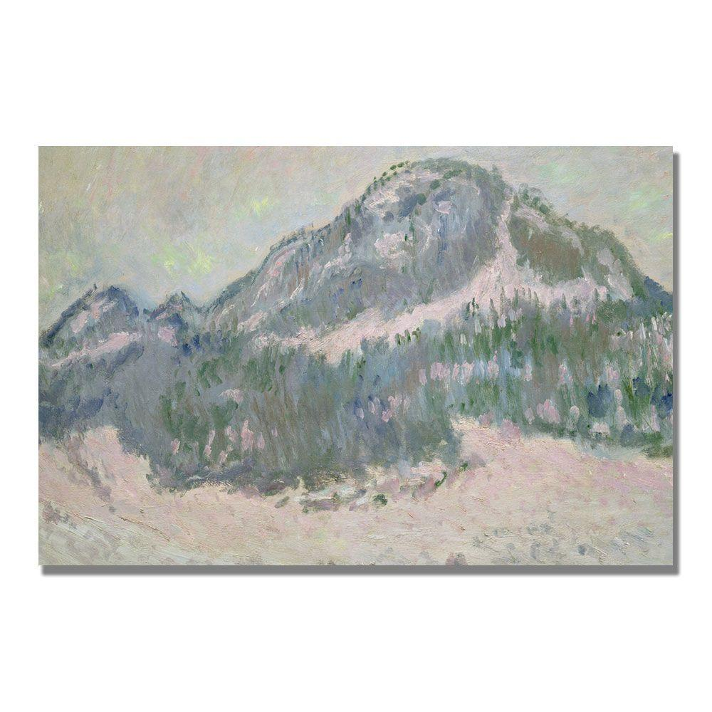 Trademark Fine Art 30 in. x 47 in. Mount Kolsaas, Norway Canvas Art