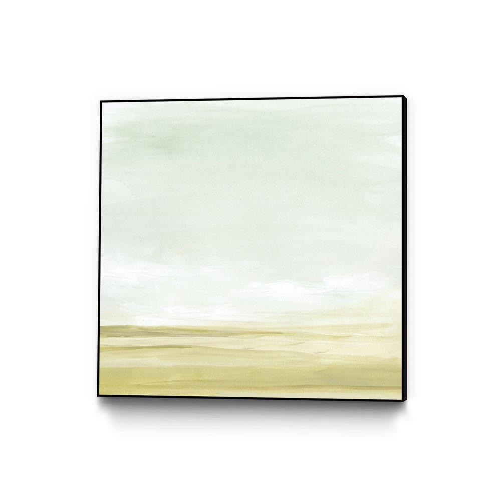 30 In X 30 In Intangible Horizon Ii By June Erica Vess Framed Wall Art Wag150950 3030cf The Home Depot