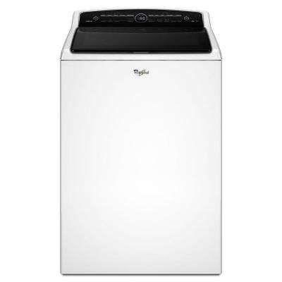 5.3 cu. ft. High-Efficiency Top Load Washer with Adapative Wash Technology in White, Intuitive Touch Controls