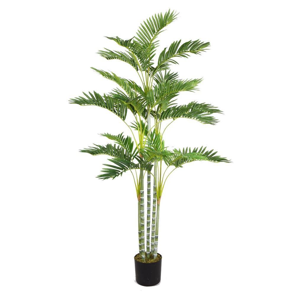 38 in. x 38 in. x 68 in. H Palm Tree