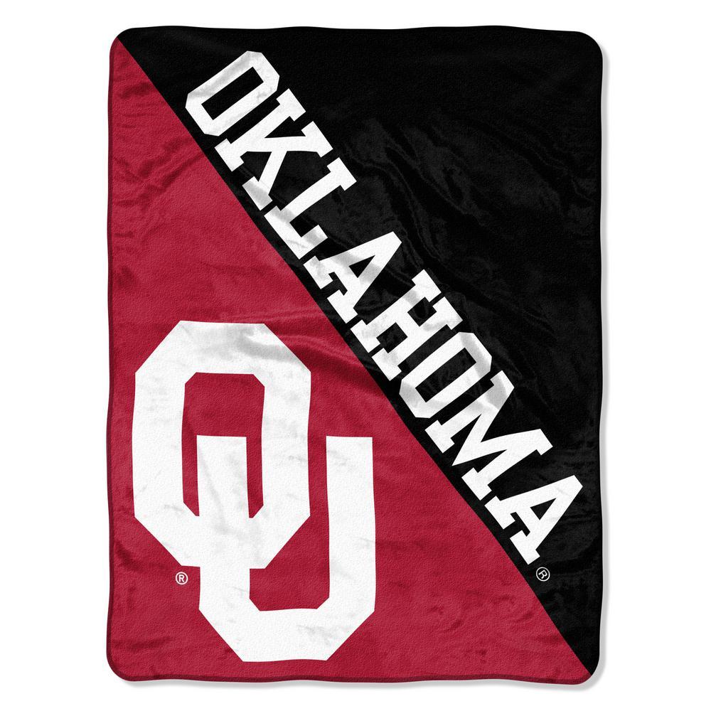 Oklahoma Multi Color Polyester Halftone Micro Blanket