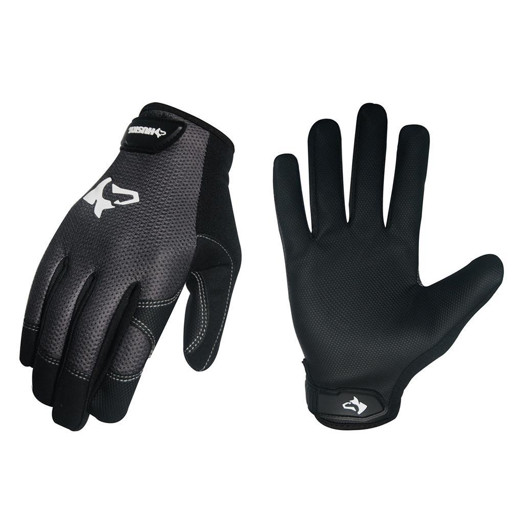 Husky Medium Light-Duty Mechanic Glove (5-Pack)