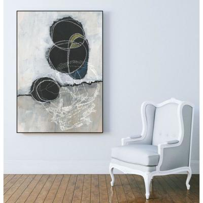 "30 in. x 40 in. ""Primary Orbs I"" by Jennifer Paxton Parker Framed Wall Art"