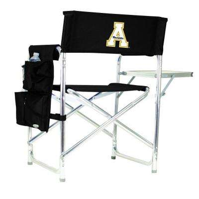 Appalachian State University Black Sports Chair with Embroidered Logo