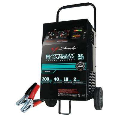 6/12-Volt Manual Wheel Charger with Engine Start