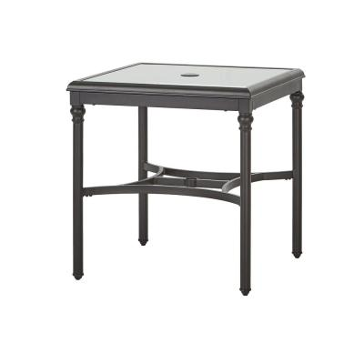 Camden Brown Aluminum Outdoor Bistro Table