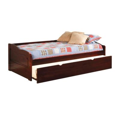 Sunset in Cherry Finish with Trundle Twin Size Daybed
