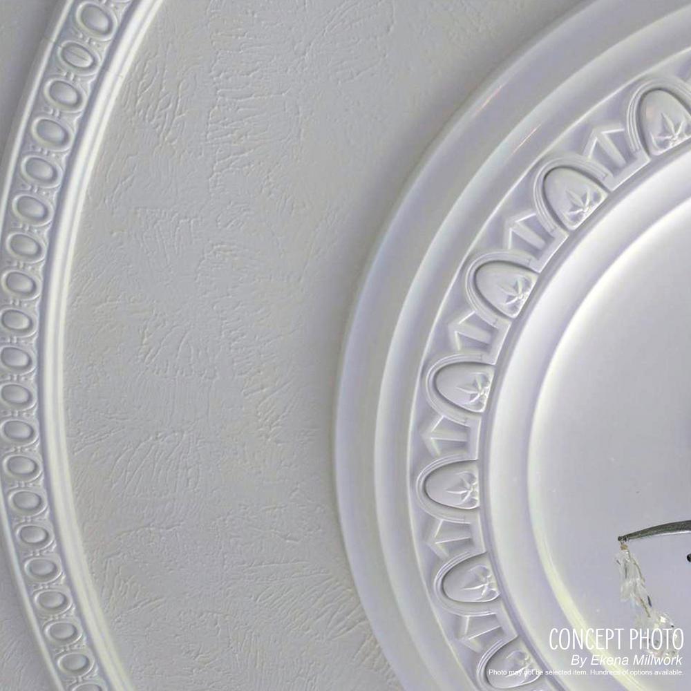 Ekena Millwork 4 In X 29 1 8 In X 29 1 8 In Polyurethane Haylynn Ceiling Medallion Pharaohs Gold Cm29hypgs The Home Depot
