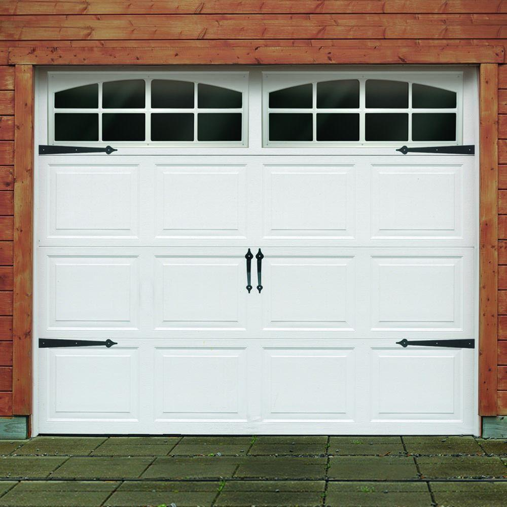 Crown Metalworks Traditional Decorative Black Garage