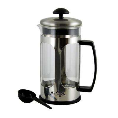 Daily Brew 4-Cups Stainless Steel Coffee Press
