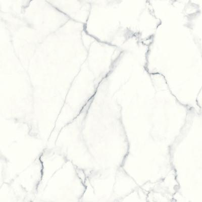 28.18 sq. ft. Carrara Marble Peel and Stick Wallpaper