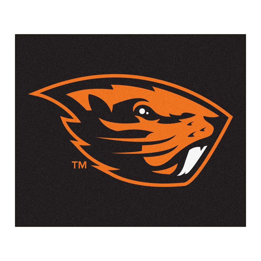 Fanmats Oregon State University 5 Ft X 6 Tailgater Rug 4527 The Home Depot