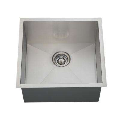 Undermount Stainless Steel 20 in. Single Bowl Kitchen Sink