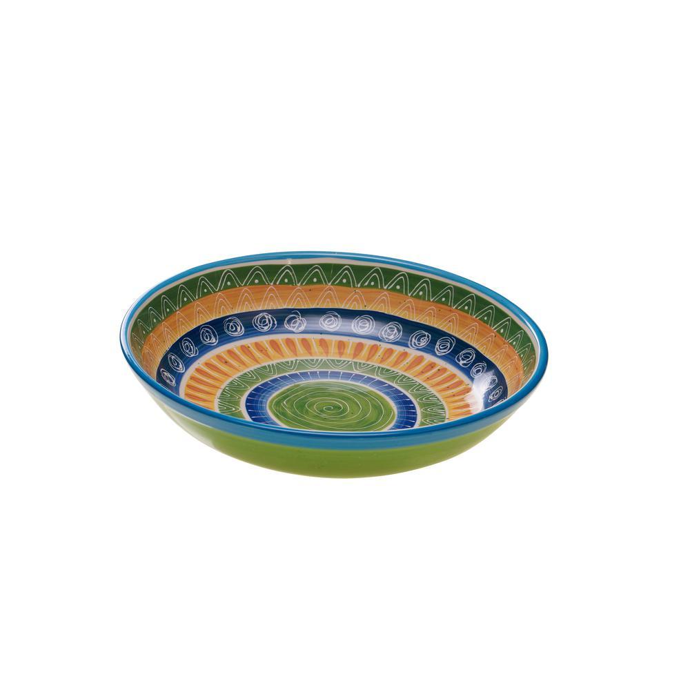 Certified International Tapas Pasta and Salad Serving Bowl 63059