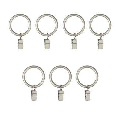 1 in. Large Clip Rings in Nickel (7-Piece)