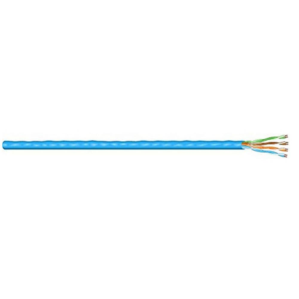 500 ft. Blue 24/4 Category 5E Cable
