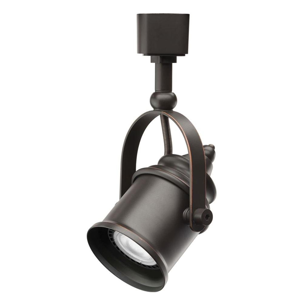 1-Light Oil-Rubbed Bronze LED Track Lighting