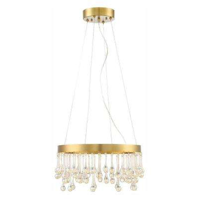 Lucienne Luxor Gold Interior LED Pendant