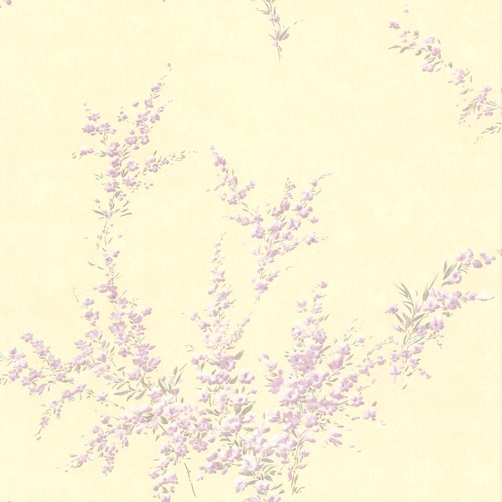 null Delia Lavender Blossom Wallpaper