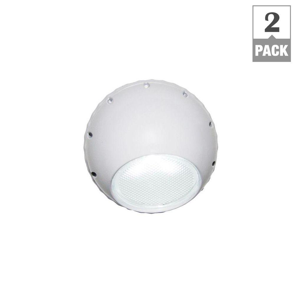Meridian 0.3-Watt Directional Automatic LED Night Light (2-Pack)