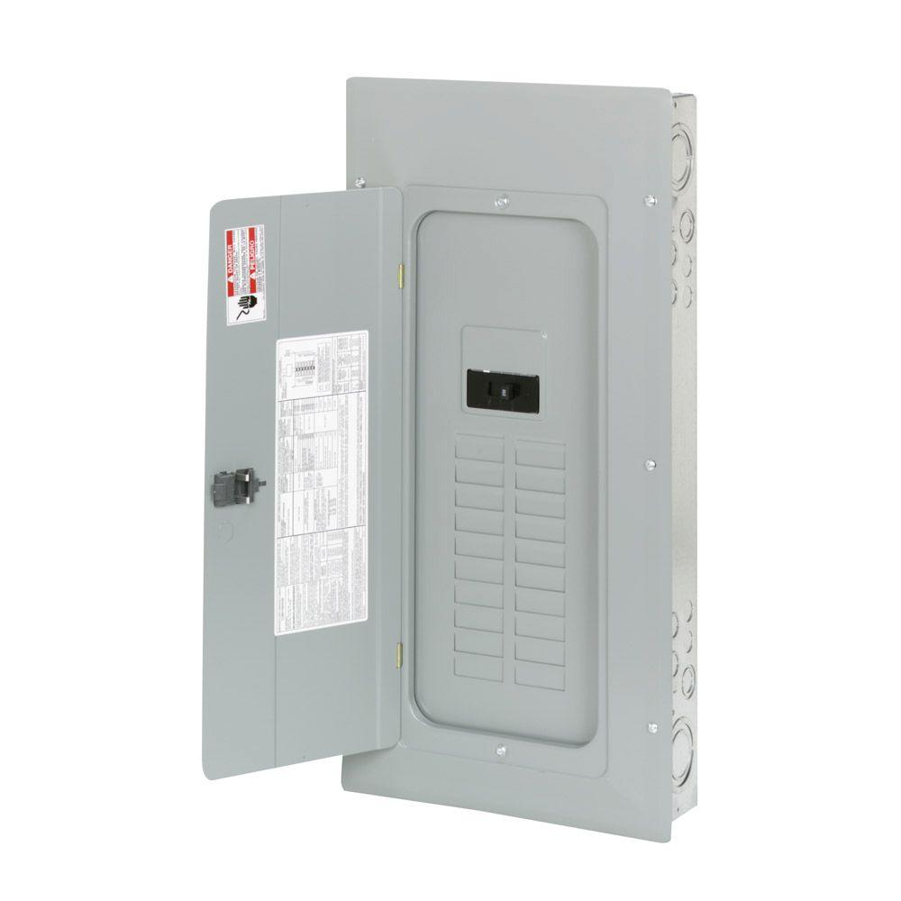 200 Amp 20-Space 40-Circuit BR Type Main Breaker Load Center