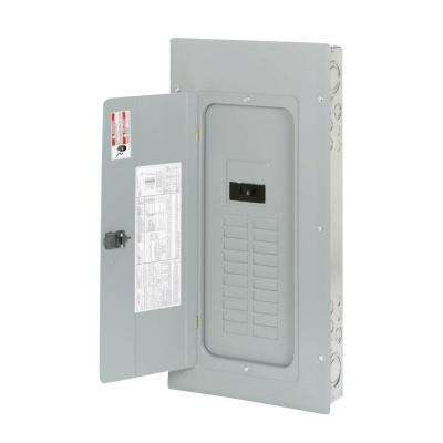 BR 100 Amp 20 Space 40 Circuit Indoor Main Breaker Loadcenter with Combination Cover