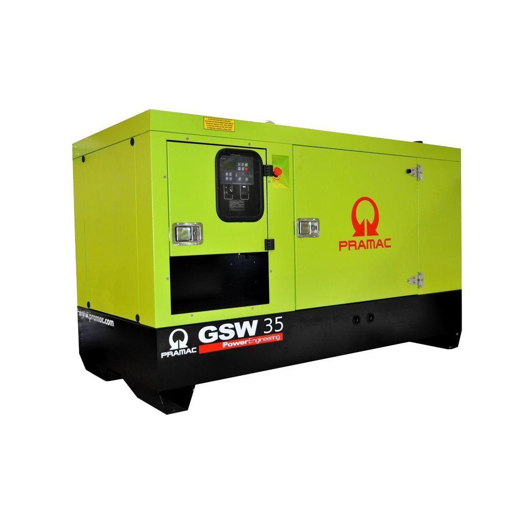 null 41,300-Watt 50-Amp Liquid Cooled Diesel Standby Generator