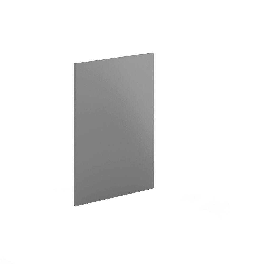 Eurostyle 24x34.5x0.75 in. Dishwasher End Panel in Painted Gray Veneer