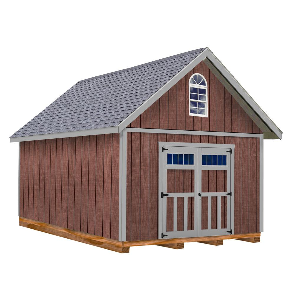 Best Barns Springfield 12 Ft. X 20 Ft. Wood Storage Shed