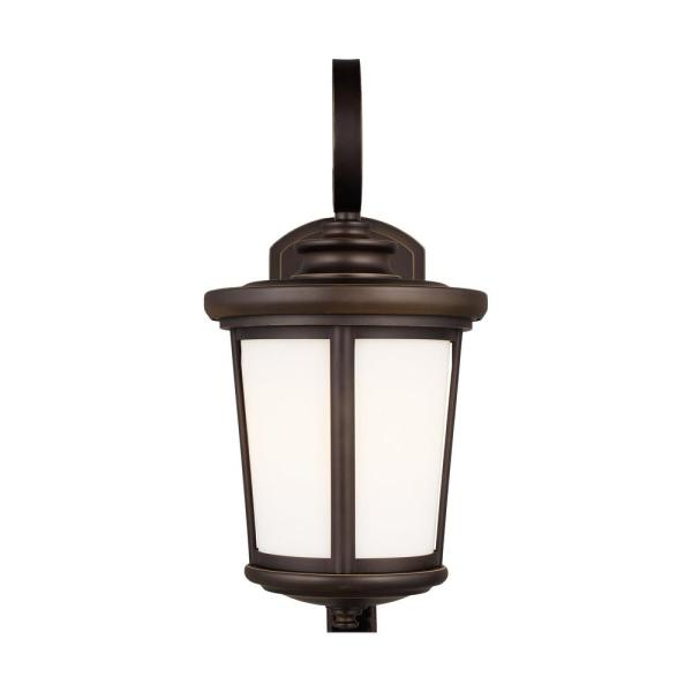 Eddington 1-Light Antique Bronze Outdoor Wall Lantern